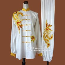 Customize Tai chi clothing Martial arts clothes taiji sword uniform exercise embroidery for women men girl children boy kids