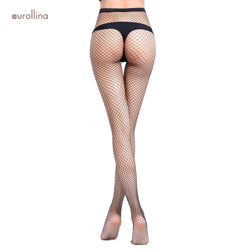Fishnet Pantyhose Stocking Perfect Suit For Ripped Jeans Medium Hole Netted Stocking Adults Woman Flattering Dress Pantyhose in Tights from Underwear Sleepwears