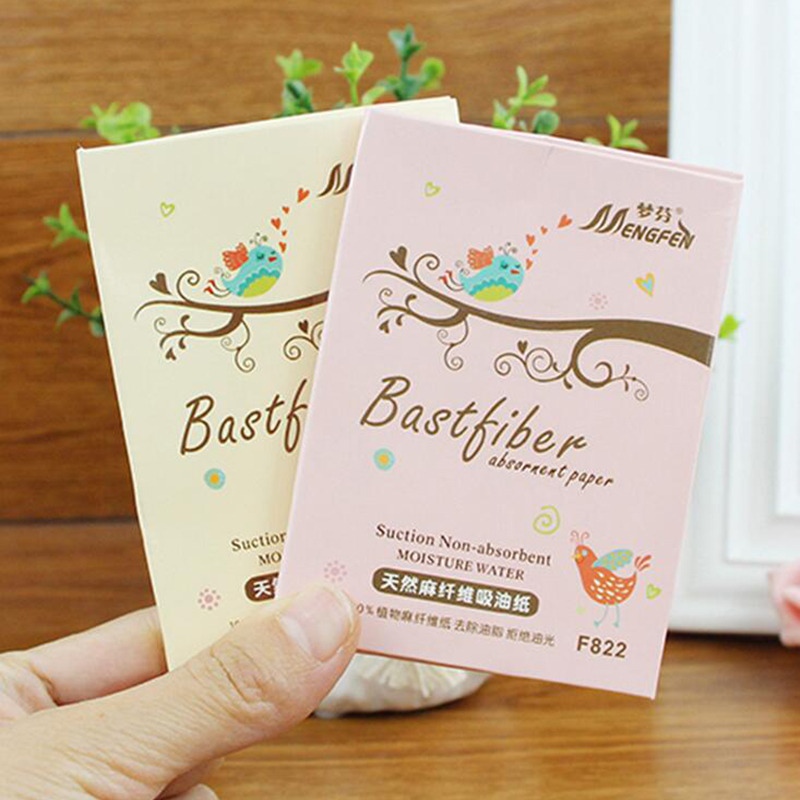 70pcs /bag Tissue Papers Pro Powerful Makeup Cleaning Oil Absorbing Face Paper Absorb Blotting Facial Cleaner Face Tools