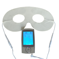 Tens Acupuncture Digital Therapy Massager Machine 16Mode Electronic Pulse Body Muscle Stress Pain Relief Unit With Eye Mask