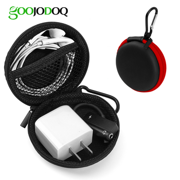 Headphones Case, Portable Storage Bags Travel Carrying Case for Airpods TWS Bluetooth Wireless Earphone Charger Cable  Earbuds