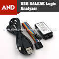 Free shipping  USB Logic 24MHz 8Ch Logic Analyzer for ARM FPGA