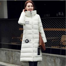 Winter Jacket 2016 New Women Hooded Thicken Coat Female Fashion Warm Outwear Cotton Padded Long Wadded