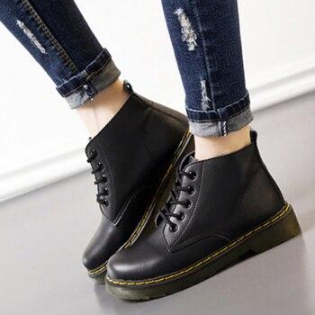 9ed2ef7cf7a161 GKTINOO 2018 Femmes Mode Vintage En Cuir Véritable Chaussures Femme ...
