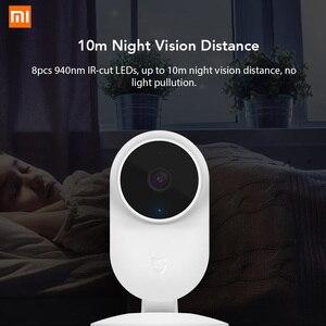 Image 4 - Xiaomi Mijia 1080P IP kamera 130 derece FOV gece görüş 2.4Ghz Xiaomi ev kiti güvenlik monitörü CCTV