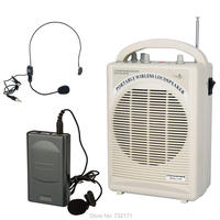 Built In Rechargeable Battery Mobile Echo Function Portable Pa System Tai Clip Or Headphones Wireless Microphone