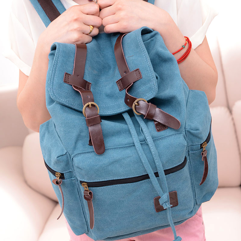 Vintage Women Canvas Backpacks For Teenage Girls School Bags Large High Quality New Fashion Men Backpack sac a main high quality women leather backpacks vintage backpack women school bags 2015 new arrival bags design wholesale backpacks bb28
