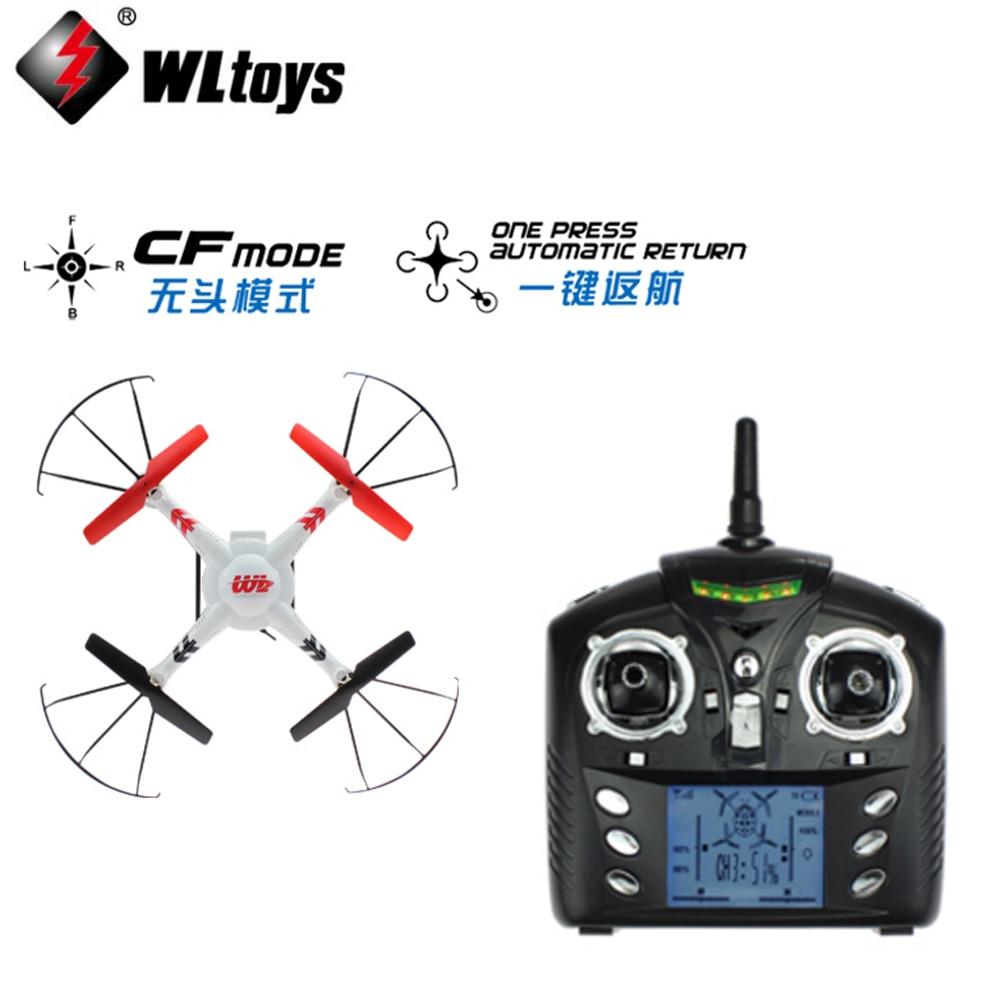 1set WLtoys V686 V686G V686K V686J 2.4GHz 4CH Dron Professional Drones CF MODE RC Quadcopter & Camera & FPV Monitor