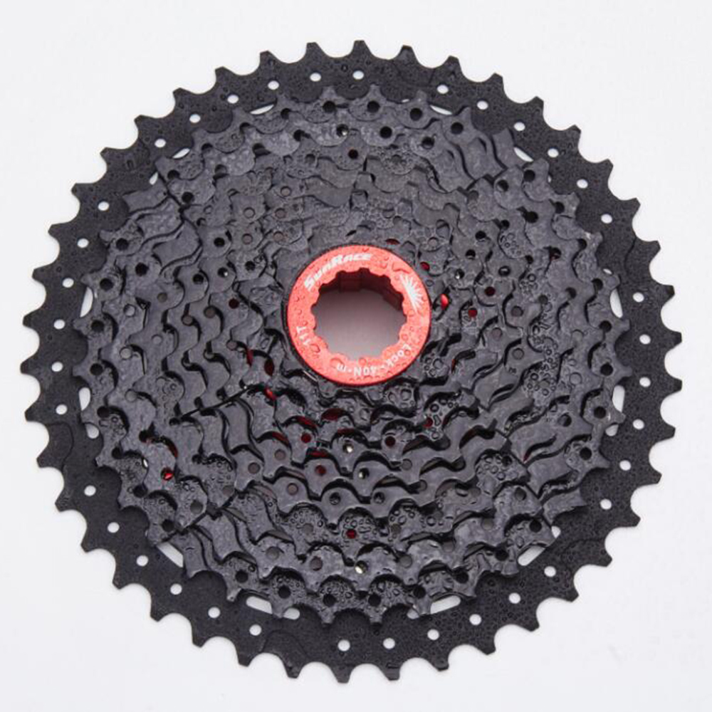 Sunrace CSMX3 Cassette 10 Speed Bicycle Freewheel Mtb 11-42T Chain Wheel Mountain Bicycle Cassette Bike Parts Sprockets 10 speed cassette 11 42t gold mtb cassette 10 speed fit for mountain bike road bicycle mtb bmx sram shimano