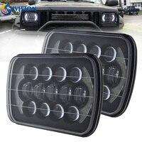 5x7 Inch 85W Auto Headlamp DRL 5X7 LED Headlight For Truck FLD 50 60 70 80