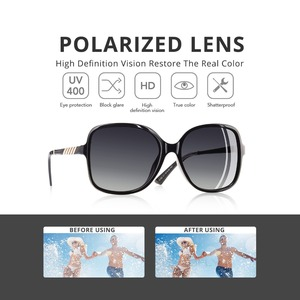 Image 3 - AOFLY Brand Design Elegant Sunglasses Women Oversized Frame Polarized Ladies Sun Glasses UV400 Eyewear Goggle Gafas De Sol A152