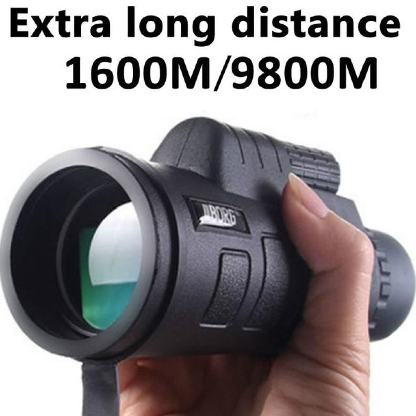 Vision 40x60 HD Optical Monocular Hunting Camping Hiking Telescope Day Vision Monocular