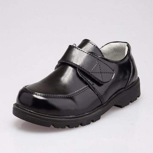 Children Performance Shoes Genuine Leather Boys Dress Shoes
