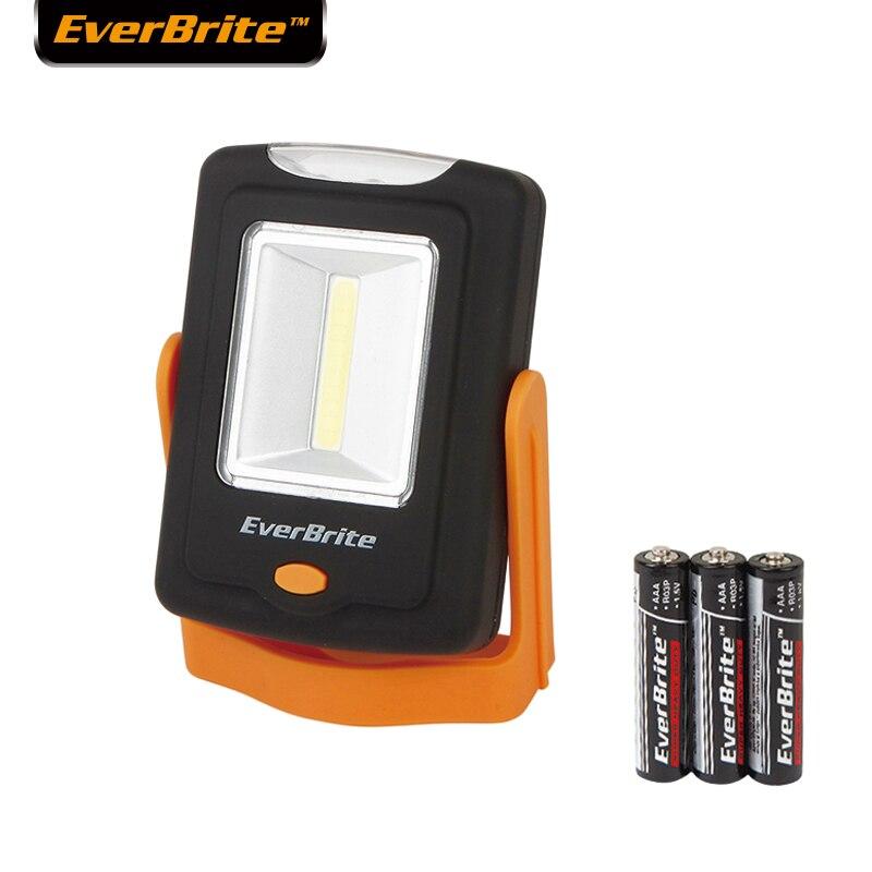 Everbrite-farben 2 in 1 LED licht Tragbare COB notfall licht Unter Kabinett Lichter Multitool Arbeit Licht Camping Lampe