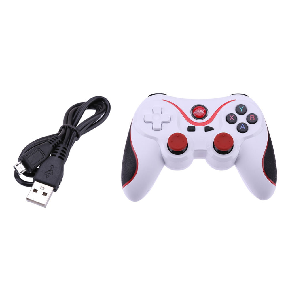 T3 Wireless Bluetooth V3.0 Gamepad Gaming Controller Joystick for Android Smartphone Smart TV/Tablet PC/Smartphone/MIMU TV Box