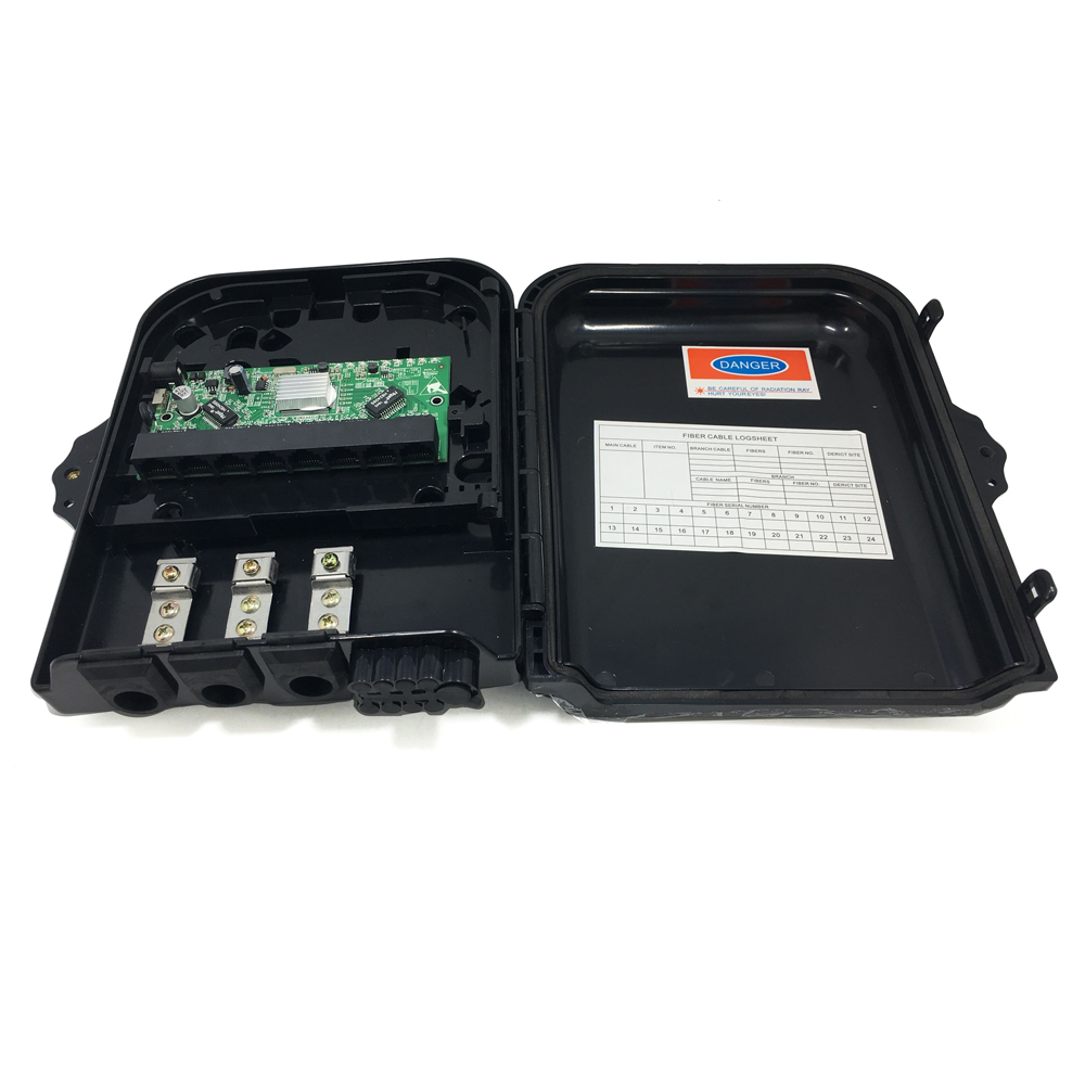8 Port 10/100/1000M Ethernet Reverse Poe Switch With VLAN