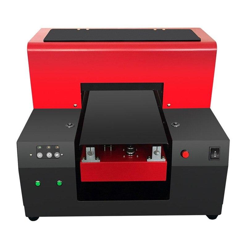A3 Uv Flatbed Printer Kleur Afdrukken Van Elke Vlakke Materiaal Generatie Volautomatische Uv Printer Hoge Kwaliteit Ne