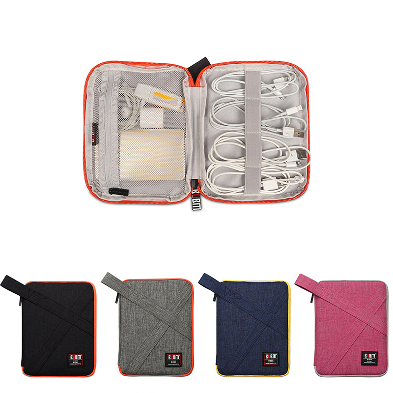 Travel Accessories Bags Date Cable Digital Finishing Bag Data Organiser Bag Case For Charger Wire  Earphones Usb Flash Drive Bag