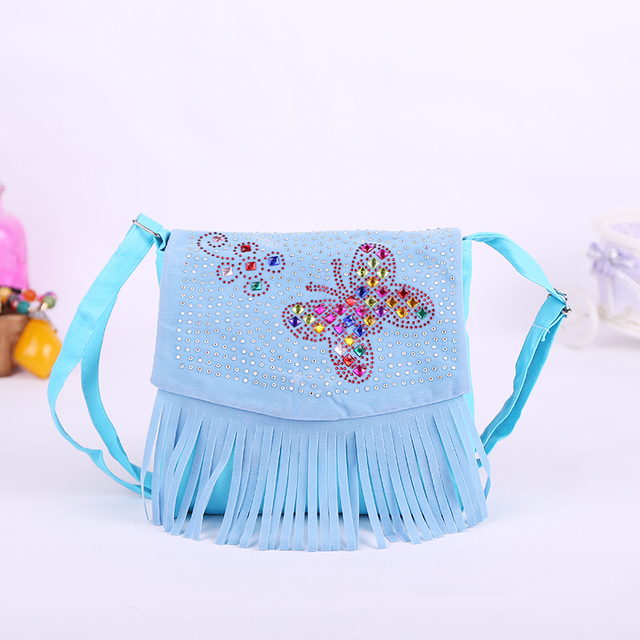 Children's Cute Cowgirl Style Clutch with Tassel