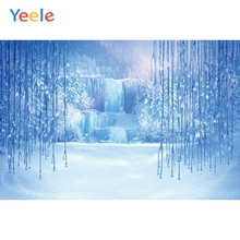 Yeele Frozen Princess Snow Scenery Wonderland View Personalized Photographic Backgrounds Photography Backdrops For Photo Studio
