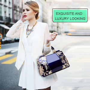 Image 5 - Nevenka Embroidery Women Bag Leather Purses and Handbags Luxury Shoulder Bags Female Bags for Women 2019