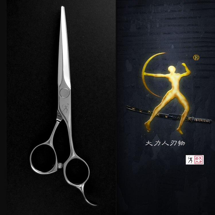 Titan ciseaux de coiffeur classique plat coupe acrm alliage durable 5.5 pouces ciseaux