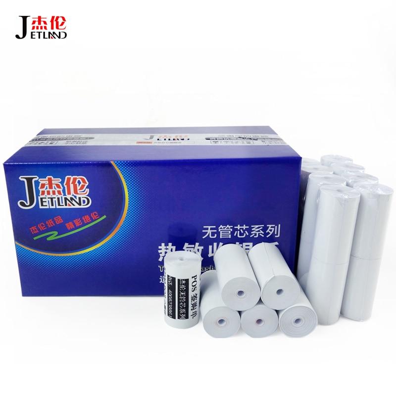 64 PCs Thermal Paper Cash Register Receipt Roll 57x30 mm for Mobile 58mm 30mm Mini Printer