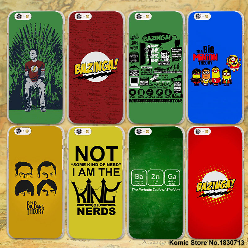 iphone 7 big bang theory case