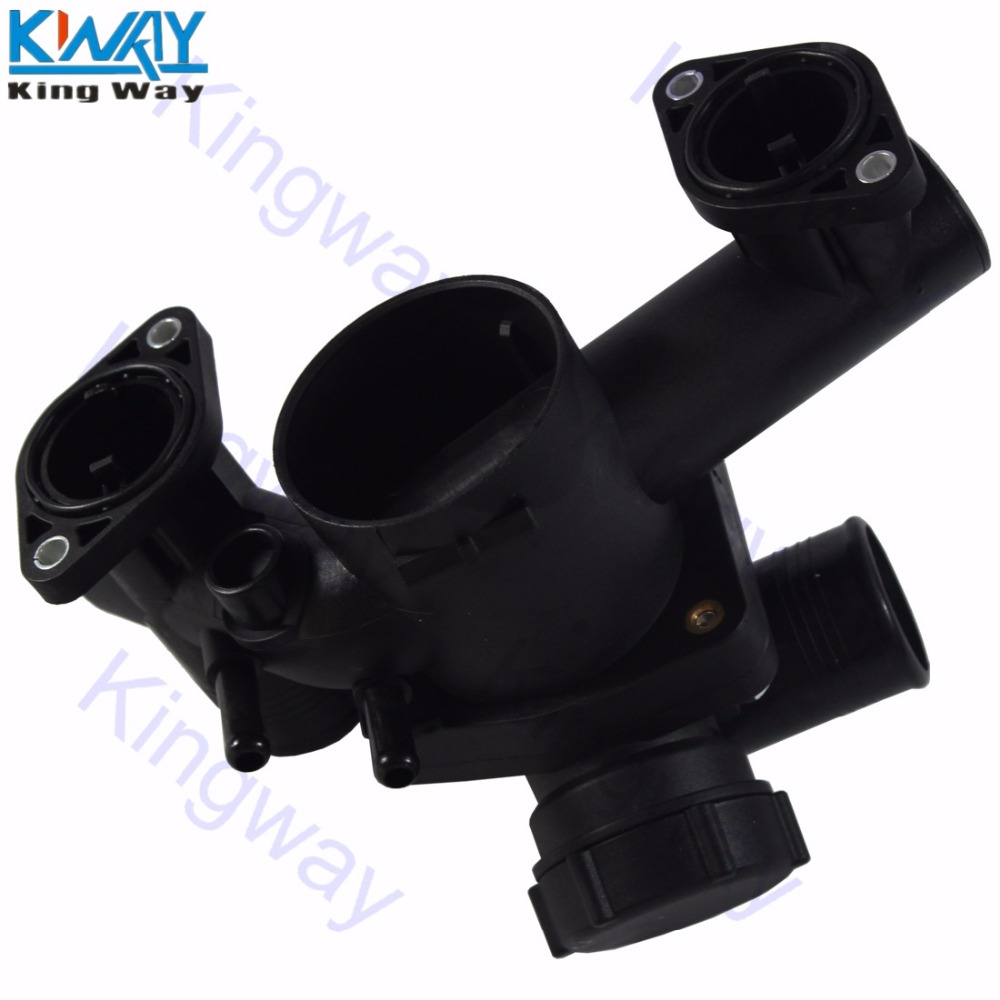 Free Shipping King Way Thermostat Housing For Ford 03 05 Thunderbird 2003 Fuel Filter 06 Lincoln Ls 39l 3w4z8548ad In Thermostats Parts From Automobiles