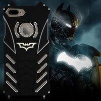 R-chỉ cần Thiết Kế Kim Loại Nhôm LuxuryTough Armor THOR Batman Trường Hợp Điện Thoại cho IPhone 6 6 S cộng với 7/Cộng Với 7 cộng với iphone 8 Nhà bìa