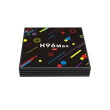 جديد H96 ماكس H2 صندوق التلفزيون أندرويد 7.1 مربع التلفزيون الذكية 4G/32G واي فاي بلوتوث