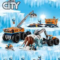 City Series Urban Arctic Series Arctic Mobile Exploration Building Block 804pcs Bricks Toys Compatible With Legoings City 60195