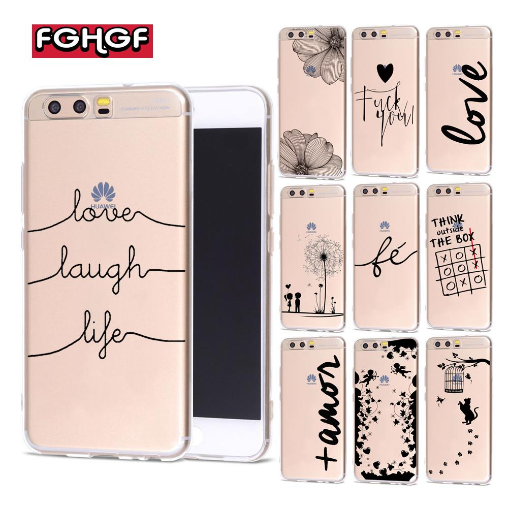 Love Laugh Life Soft TPU <font><b>Silicon</b></font> <font><b>Case</b></font> Cover For <font><b>Huawei</b></font> P9 Lite <font><b>Case</b></font> 2016 P8 P9 P10 P20 Lite Plus <font><b>Honor</b></font> 6A 6X <font><b>7X</b></font> 9 Mate 10 Lite image