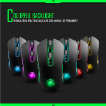 Brand Mouse Durable Gaming Mouse 3200DPI LED Optical 7D USB