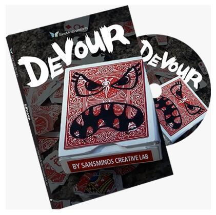 New Arrivals Devour (DVD and Gimmick) SansMinds - Magic Trick,Street Magic,Close Up,illusion,Fun,Card Magic