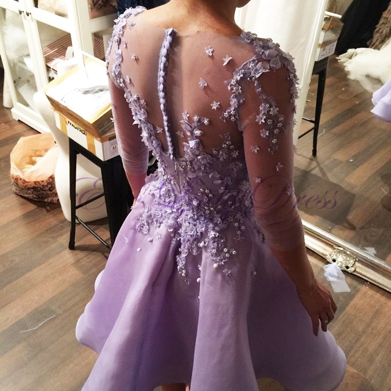Perfecto Vestido De La Dama De Honor De Lavanda Ideas Ornamento ...