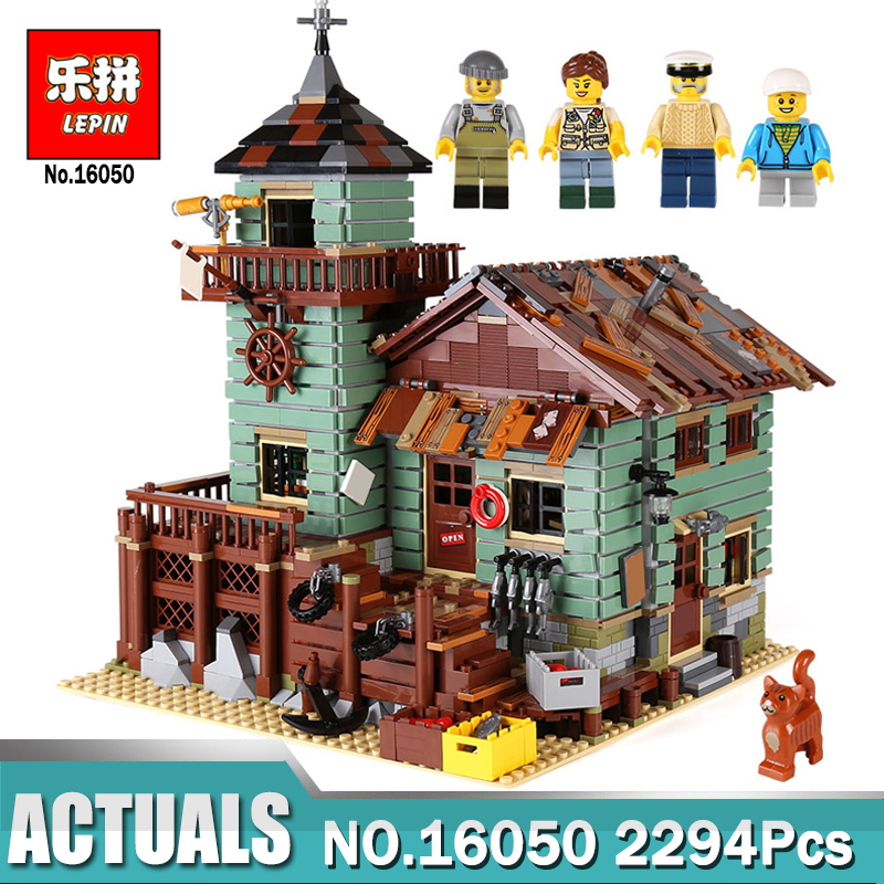 In Stock Lepin 16050 The Old Finishing Store Set MOC Series Building Blocks Bricks Toys Compatible Legoing 21310 Brick Toys lepin 16050 the old finishing store set moc series 21310 building blocks bricks educational children diy toys christmas gift