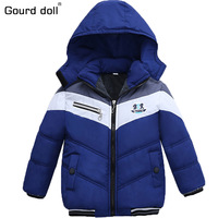 3 Colors Boys Jacket Winter Coat Children S Outerwear Super Warm Winter Style Baby Boy