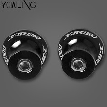 Motorcycle Accessories CNC Swingarm Sliders Spools Stand Screws For YAMAHA YZF XJR 1300 XJR1300 FJR1300 1995-2003