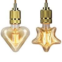 4pcs Edison bulb retro lamp incandescent ampoule vintage E27 40w 220V For Decor Filament Bulb E27 Pendant Lights Antique Bulb