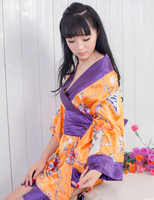 Free Size Japanese Kimono Sexy Lingerie Sexy Sleepwear Kimono Suit Game Uniforms Appeal Underwear Erotic Lingerie