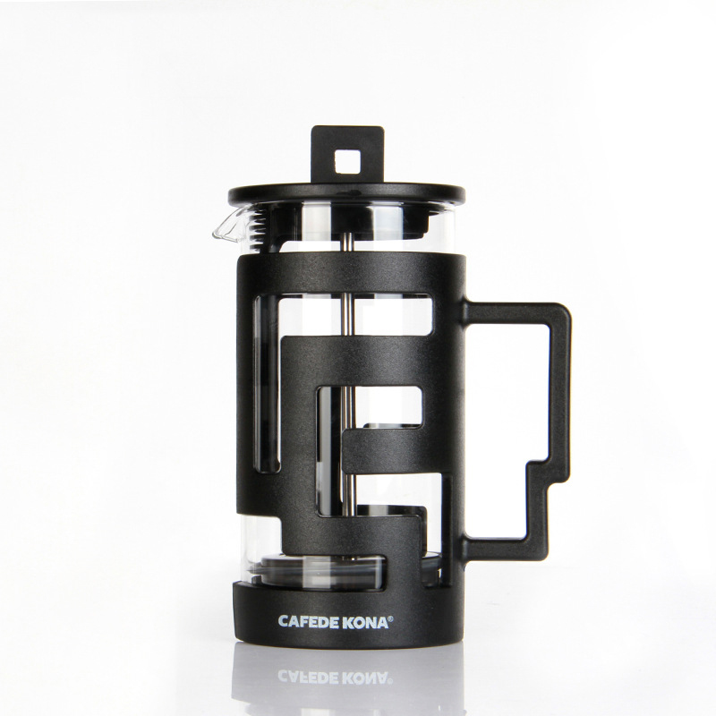 Image 4 - Cafetiere French Press Coffee Maker 350ML 800ML Percolators Coffee Maker Coffee Pot With Food Grade Glass wall Give a SpoonCoffee Pots   -