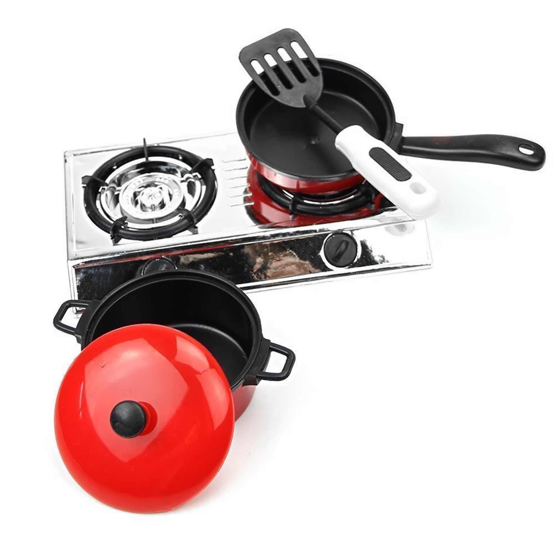 13 PCS Crianças Simulação DIY Pratos Colher Facas de Cozinha Panelas Panelas Panelas do Fogão De Cozinha Ferramenta Acessórios de Cozinha Pretend Play Toy