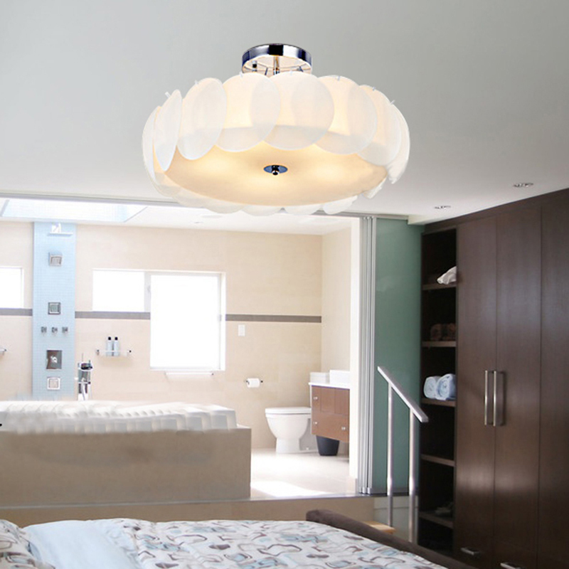 Modern Bedroom Ceiling Decorations Emo Bedroom Decor Bedroom Ideas For Young Adults Men Zombie Bedroom Ideas: Modern Simple Bedroom Flower Ceiling Lamp For Corridor