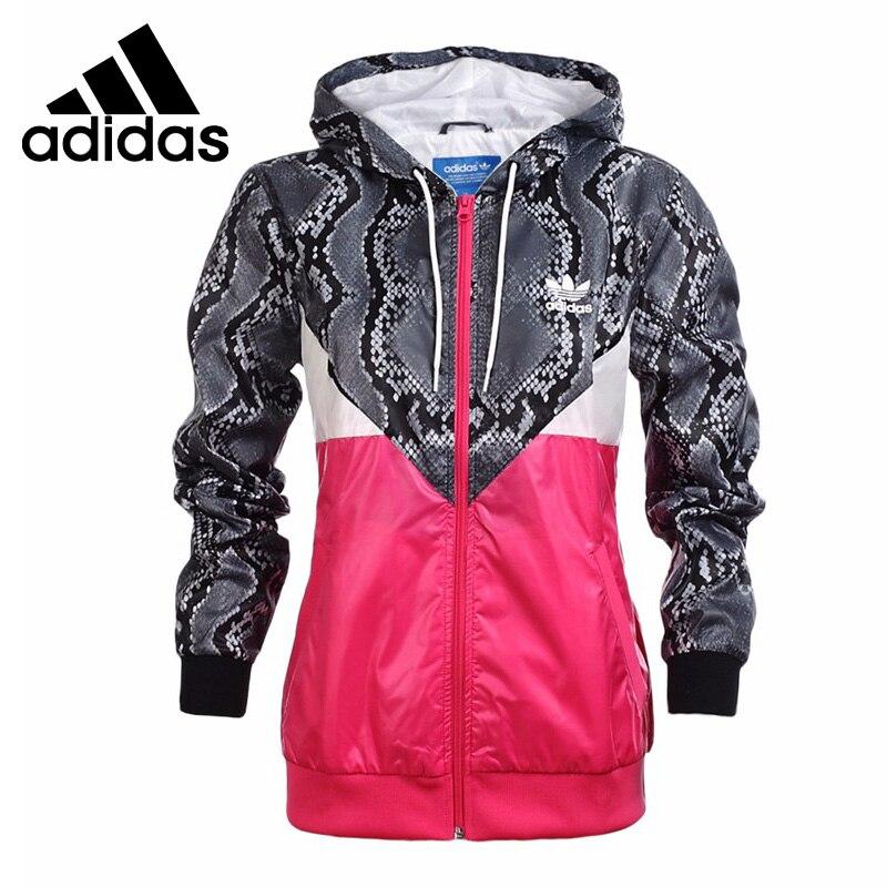 Original Adidas Originals women's jacket Hoodie Sportswear original adidas originals women s jacket ab2096 sportswear free shipping