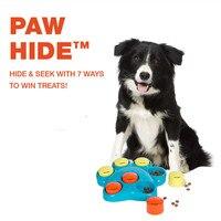 Stile di modo di Plastica Giocattoli Del Cane Giocattolo Intelligente Gigante Forma Artiglio che perde Cibo Giocattoli Allenatore Divertimento e Rilassante per Dog Pet forniture