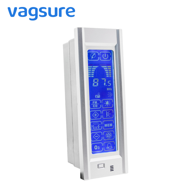 Big LCD display TR028 Shower cabin hi-fi FM radio control with roof/rear light/speaker/ventilation fan/phone connection