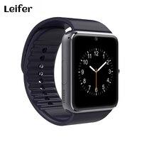 Bluetooth Smartwatch GT08 חכמים שעונים לאייפון 6/puls/5S סמסונג S4/הערה 3 טלפון אנדרואיד HTC טלפונים חכמים אנדרואיד ללבוש