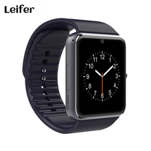 GT08 Bluetooth Smartwatch Intelligente Orologio per iPhone 6/puls/5 S Samsung S4/Nota 3 HTC Android telefono Smartphone Android Usura(China)