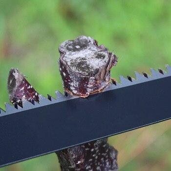 נייד גן יד מסור גיזום עץ סניף מסורים חותך גינון גיזום מסור לעיבוד עץ PAK55